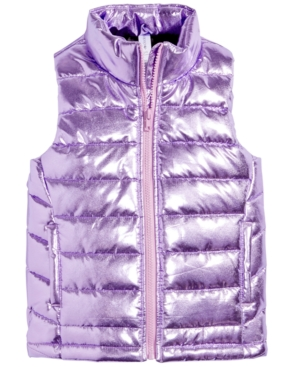 Ideology Quilted Puffer Vest Little Girls (46X) Created for Macys