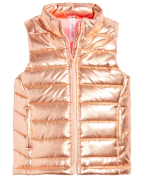 Ideology Quilted Puffer Vest Big Girls (716) Created for Macys