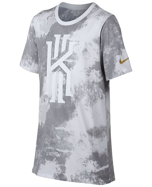 54544dd1 Nike Dri-FIT Kyrie Irving T-Shirt, Big Boys & Reviews - Shirts ...