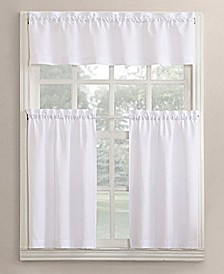 Martine 3-Piece Kitchen Curtain Set