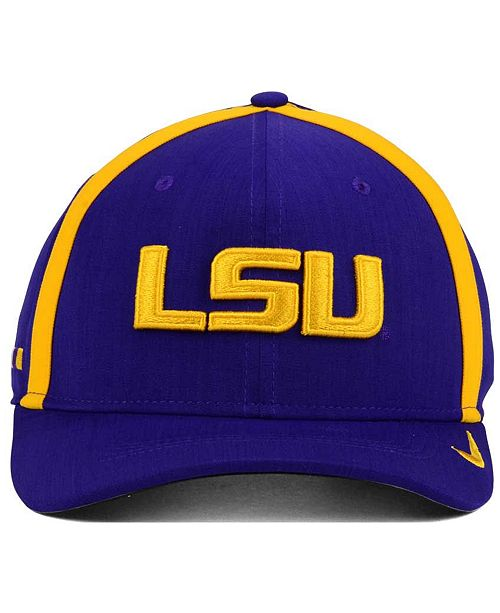 watch 7d904 17c11 ... Nike LSU Tigers Aerobill Sideline Coaches Cap ...
