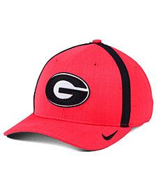 Nike Georgia Bulldogs Aerobill Classic Sideline Swoosh Flex Cap