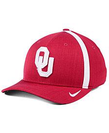 Nike Oklahoma Sooners Aerobill Classic Sideline Swoosh Flex Cap