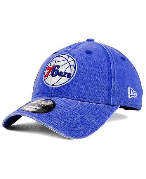 100% authentic a256d 032fc New Era. Philadelphia 76ers Italian Wash 9TWENTY Dad Cap. Be the first to  Write a Review. main image  main image ...