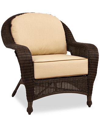 Monterey Wicker Outdoor Club Chair Furniture Macy s