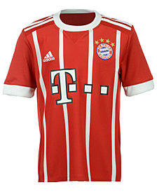 adidas Bayern Munich Club Team Home Stadium Jersey, Big Boys (8-20)