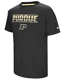 Colosseum Purdue Boilermakers Head Start T-Shirt, Big Boys (8-20)