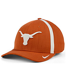 Nike Texas Longhorns Aerobill Classic Sideline Swoosh Flex Cap