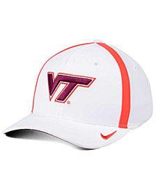 Nike Virginia Tech Hokies Aerobill Classic Sideline Swoosh Flex Cap
