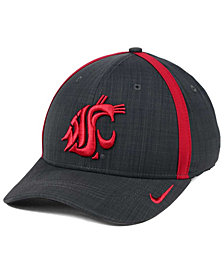 Nike Washington State Cougars Aerobill Classic Sideline Swoosh Flex Cap