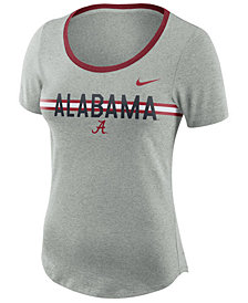 Nike Women's Alabama Crimson Tide Tri Blend Slub T-Shirt