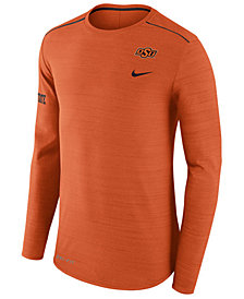 Nike Men's Oklahoma State Cowboys Dri-Fit Breathe Long Sleeve T-Shirt