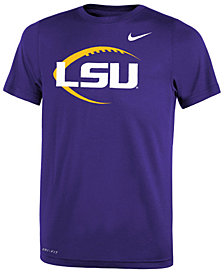 Nike LSU Tigers Legend Icon Football T-Shirt, Big Boys (8-20)