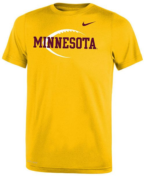 Nike Minnesota Golden Gophers Legend Icon Football T-Shirt, Big Boys (8-20)