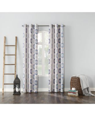"""Cherisse Thermal Lined Curtain 40"""" x 63"""" Panel"""