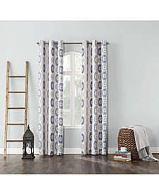 "Sun Zero Cherisse Thermal Lined Curtain 40"" x 84"" Panel"