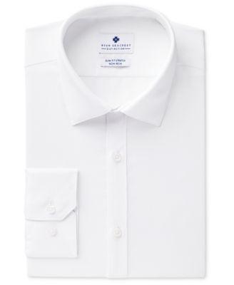 White Slim Fit Dress Shirt