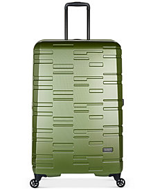 "Antler Prism Embossed DLX 30"" Hardside Expandable Spinner Suitcase"