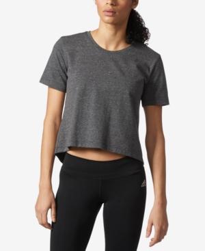 822bb7c099f ADIDAS ORIGINALS Adidas Climalite Open-Back Cropped T-Shirt ...