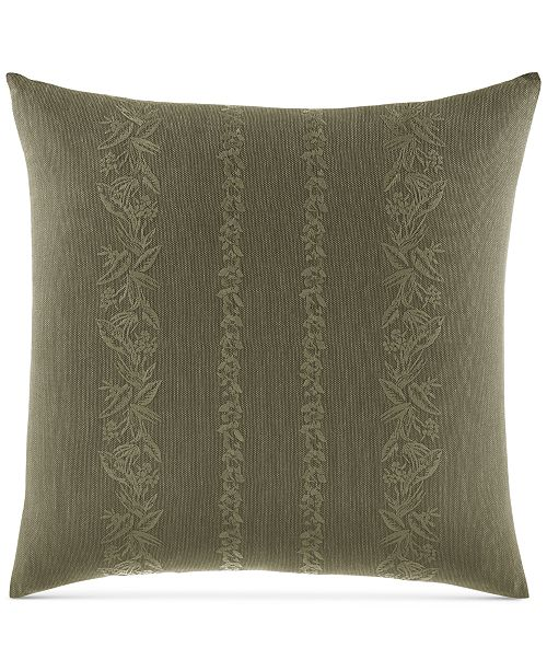 "Tommy Bahama Home Nador Embroidered 18"" Square Decorative Pillow"