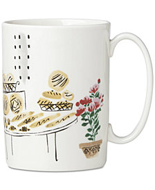 kate spade new york Union Square Accents Mug