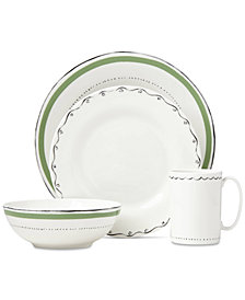 kate spade new york Union Square Green 4-Piece Place Setting