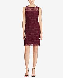 Lauren Ralph Lauren Lace Sleeveless Dress