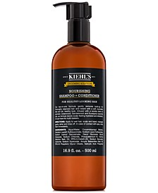 Grooming Solutions Nourishing Shampoo + Conditioner, 16.9-oz.