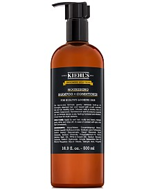 Kiehl's Since 1851 Grooming Solutions Nourishing Shampoo + Conditioner, 16.9-oz.