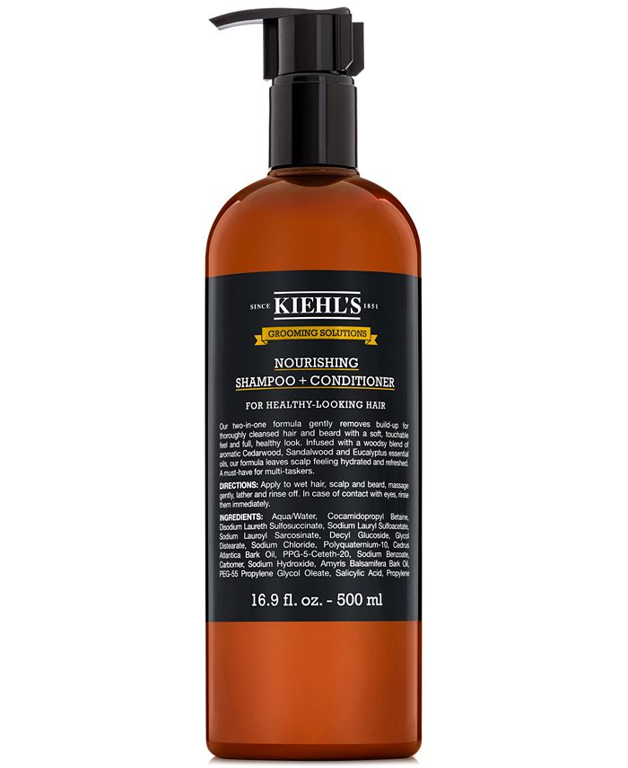 Kiehl's Since 1851 - Grooming Solutions Nourishing Shampoo + Conditioner, 16.9-oz.