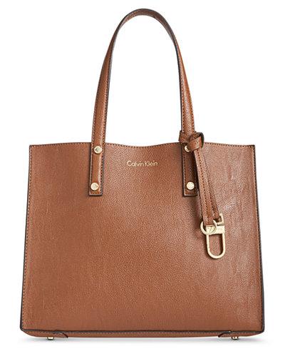 Calvin Klein Grace Medium Box Satchel