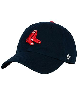 '47 Brand Boys' Boston Red Sox Clean Up Cap