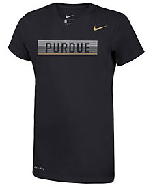Nike Girls' Purdue Boilermakers Legend V-Neck Mascot T-Shirt
