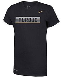 Nike Girls' Purdue Boilermakers Legend V-Neck Mascot T-Shirt