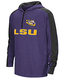 Colosseum LSU Tigers Hotshot Quarter-Zip Hoodie, Big Boys (8-20)