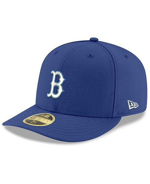 sale retailer 54541 d1baa ... New Era Boston Red Sox Low Profile C-DUB 59FIFTY Fitted Cap ...