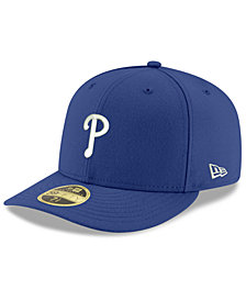 New Era Philadelphia Phillies Low Profile C-DUB 59FIFTY Fitted Cap