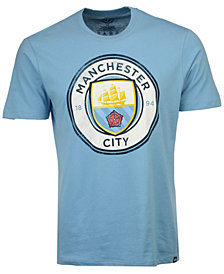 '47 Brand Men's Manchester City Club Team Wordmark Splitter T-Shirt