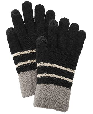 Steve Madden Chevron Block iTouch Gloves