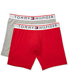 Tommy Hilfiger Men's 2-Pk. Modern Essentials Boxer Briefs