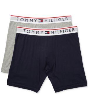 TOMMY HILFIGER Men'S 2-Pk. Modern Essentials Boxer Briefs in Navy