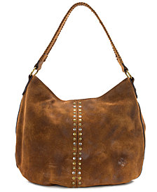 Patricia Nash Bello Burnished Leather Hobo