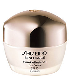 Shiseido Benefiance WrinkleResist24 Day Cream SPF 18, 1.7 oz
