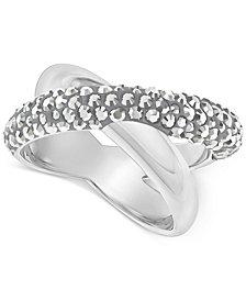 Swarovski Crystaldust Crisscross Ring