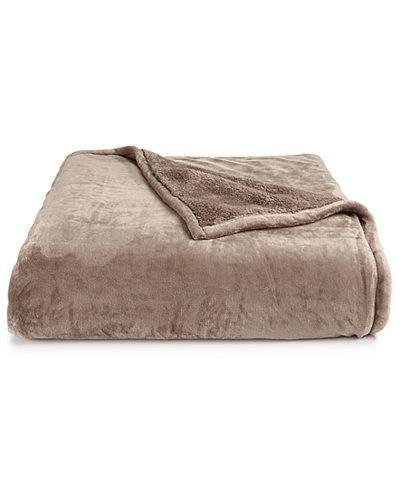 LAST ACT! Berkshire Blanket® Luxe Reversible Plush Full/Queen Blanket