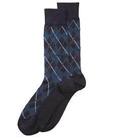 Men's Printed Dress Socks