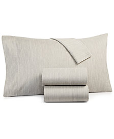 CLOSEOUT! Hotel Collection Yarn Dyed Cotton 525-Thread Count 2-Pc. Standard Pillowcase Set, Created for Macy's