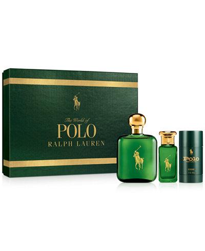 Ralph Lauren 3-Pc. Polo Gift Set