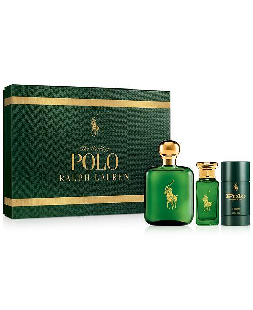 Ralph Lauren Men s 3-Pc. Polo Gift Set - All Cologne - Beauty - Macy s 5be6c1cdd572