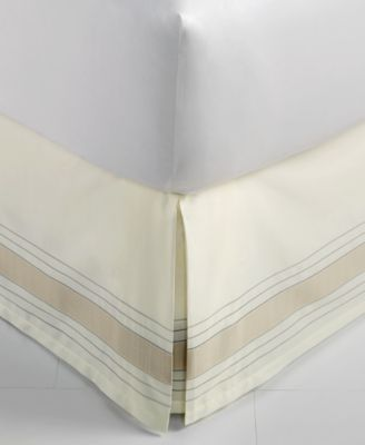 CLOSEOUT!  Woven Accent Queen Bedskirt, Created for Macy's